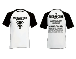 Men T-Shirt White/Black MOA 2019