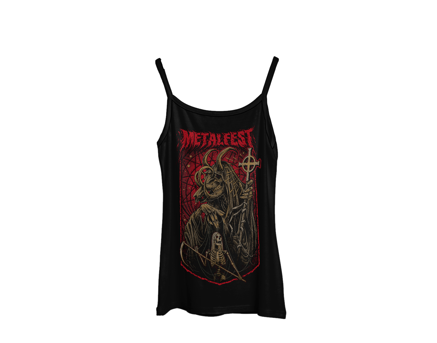 Ladies tank top (narrow straps) Death Keeper MOA 2019